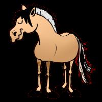 Pferd, norweger