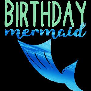 Meerjungfrau Geburtstagsgeschenk