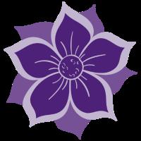 Lila Blume Mantra