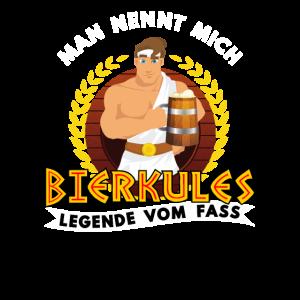 Bierkules Legende vom Fass Lustige Wiesn T-Shirt