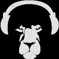 Lion with Earphones