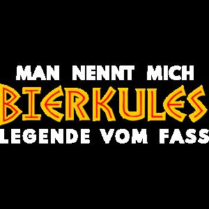 Bierkules Legende vom Fass Lustige Bier T-Shirt
