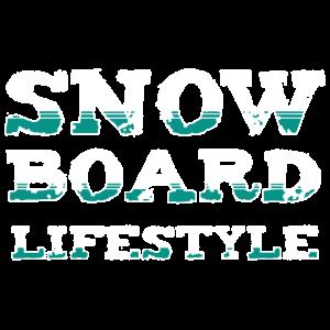 Snowboarden Lifestyle Shirt