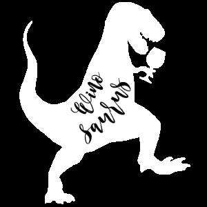 Winosaurus - Geschenk für Weintrinker