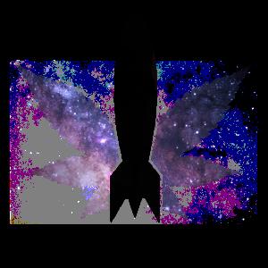 Gras Explore the Universe Rakete Galaxy Cannabis