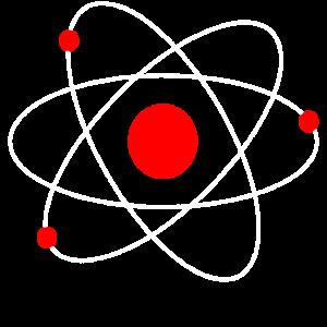 Atom Zeichnung Cartoon Atommodell