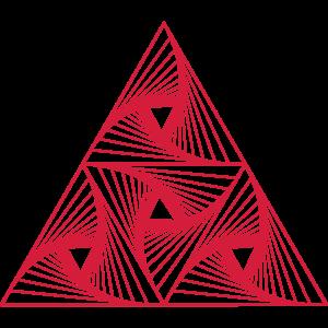 Rotierte Dreiecke Zwei