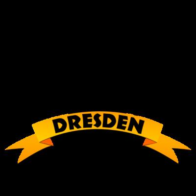 Dresden Wappen Löwe - Dresden ist die Landeshauptstadt des Freistaates Sachsen. Sie liegt in der Dresdner Elbtalweitung an den Übergängen vom Ober- zum Mittellauf der Elbe und von der Mittelgebirgsschwelle zum Norddeutschen Tiefland im Süden Ostdeutschlands. - skyline,osten,Schwarz,Sachsen,Ostdeutschlands,Gelb,Elbtal,Elbflorenz,Elbe,Dresden,DDR