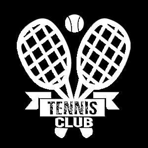 Tennis Club Sport Trikot mit Tennisschläger, Ball