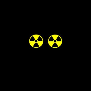 Skull radioactive