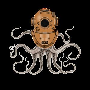 Steampunk Octopus Taucher