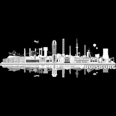 duisburg_city_lines02 - Dzisburger Stadt Skyline für Duisburg Liebhaber - westfahlen,urban,stadt,skyline,ruhrort,rheinhausen,kultur,homberg,hamborn,design,cool,city,baerl,architektur,Wesel,Ruhrpott,Ruhr,Region,Meiderich,Illustration,Duisburger,Duisburg,Beeck