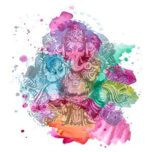 Ganesha Watercolor Sommer Kollektion