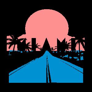 Miami Retro 80er