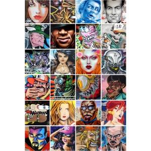Graffiti Characters Design