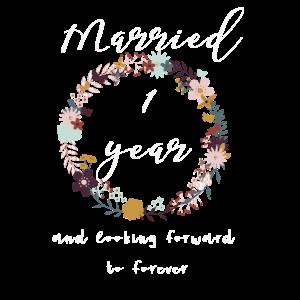 1. Hochzeitstag ein Jahr Geschenkidee