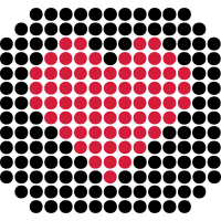 DOTTED HEART (v)