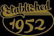 Jahrgang 1950 Geburtstagsshirt: Birthday-Shirt - Geburtstag - Established 1952