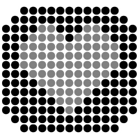 DOTTED HEART (b)