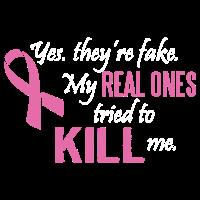 Krebs-Bewusstsein-T-Shirt