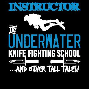 Instructor The Underwater Knife Fighting School