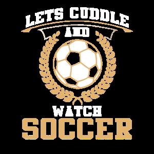 Fußball kuscheln Sport Geschenk