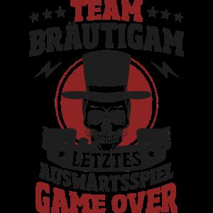 Team Bräutigam, JGA, Polterabend, Game Over