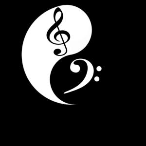 Yin Yang Musik Instrument Musizieren Chor Singen