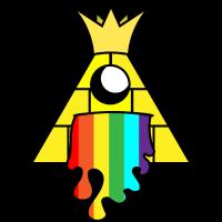 Regenbogen Iluminati ! Geschenk Idee !