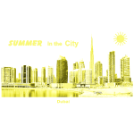 Dubai  Skyline City Summer Emirate
