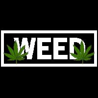 WEED HANFBLATT CANNABIS