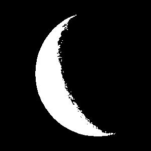 Mond - Moon - HALBMOND