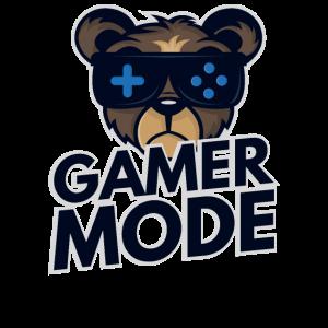 Gamer Mode PC Konsole zocken Geschenk