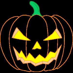 Happy Halloween Fratze, gruselig, scary, Kürbis