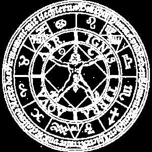 Gothic Okkult Sigil Zeichen Geschenk