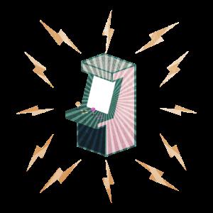 Spielautomat Gaming Automat Zocken Geschenk Idee