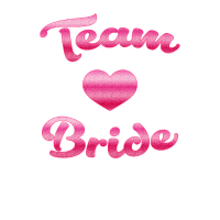 Team Bride Polterabend T-Shirt