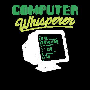 Computer Whisperer Nerd Gamer Programmierer Geek