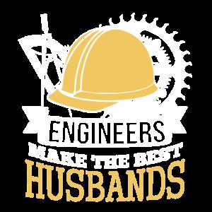 Bestes Ingenieur-Ehemann-Hemd