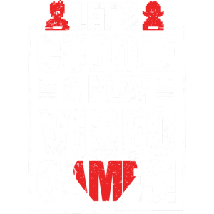 Lets Cuddle Play Video Games T Shirt