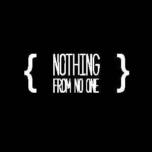 Nothing From No One Quote Verschnörkelungen