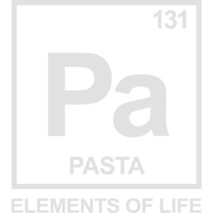 Elements of life: 131 pasta Periodensystem