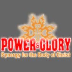 Power and Glory Logo glow red and orange