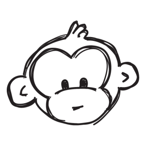 Süßer Affe