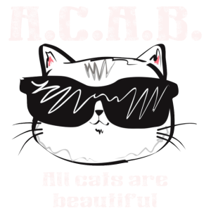 Katze Katzengesicht A.C.A.B. Shirt Geschenk