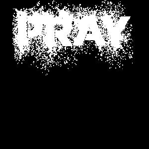 Pray distressed