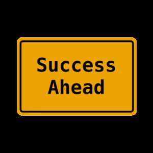 Erfog In Aussicht I Success Ahead