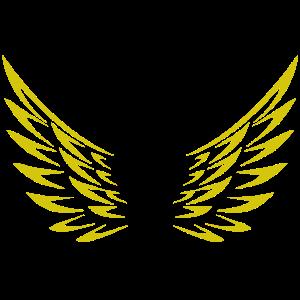 Flügel / Engel / Engelsflügel in gold