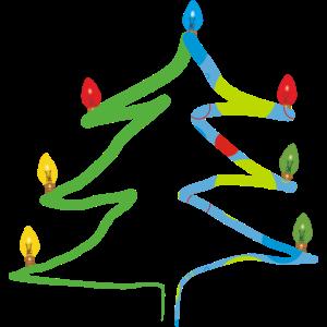 Christbaum, Weihnachtsbaum, Heiliger Abend, Santa