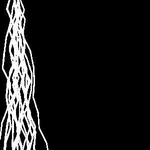 Vertikale Linien (weiß)